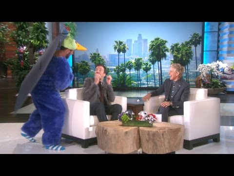 Ellen Scares Jimmy Fallon During a Promo
