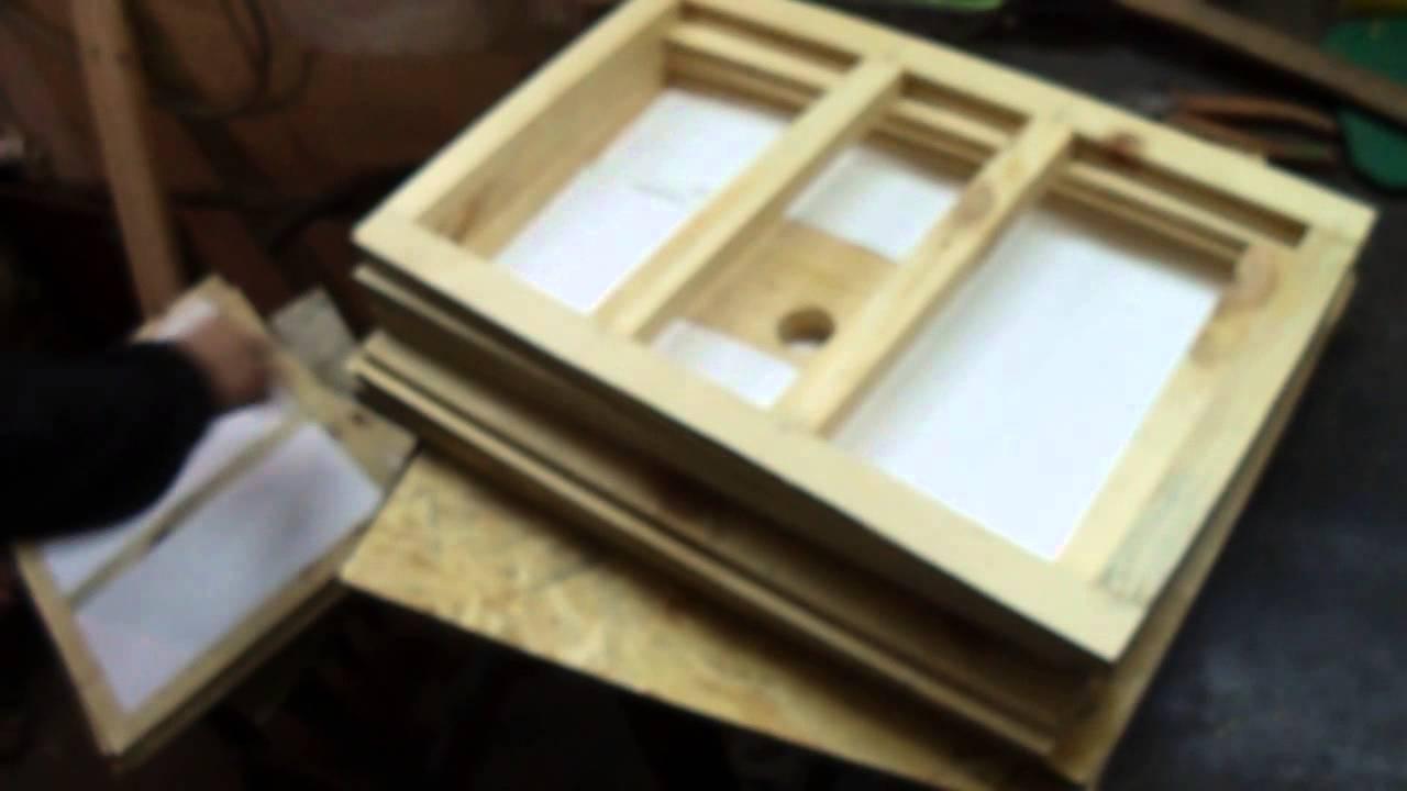 схема постройки ульев