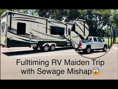 Full-timing Family RV Maiden Trip