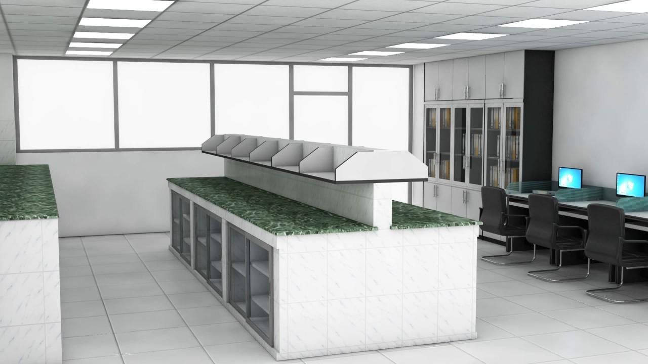 LaboratoryLab Room 3D Furniture Design YouTube