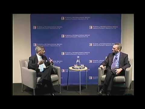 Dean's Discussion: Dr  Jaishankar, Ambassador of India