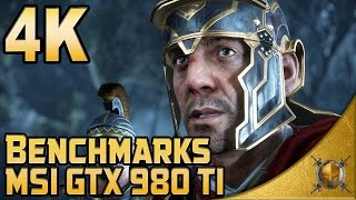 Ryse: Son of Rome (PC) - 4K Gameplay - 4K/1440p/1080p Benchmarks - [MSI GTX 980Ti]