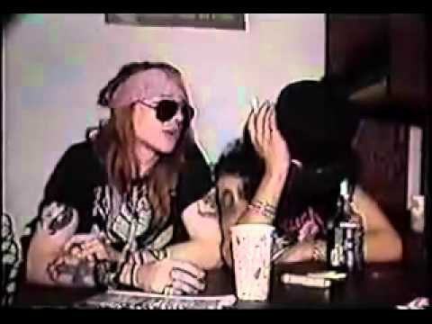 Guns N' Roses Interview - CBGB 1987 PART 1/2