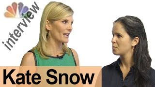 KATE SNOW -- Interview a Broadcaster! -- American English Pronunciation