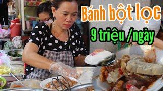 Mâm bánh bột lọc Huế MỖI NGÀY thu gần 9 TRIỆU ở quận 10 - Sài Gòn ẩm thực