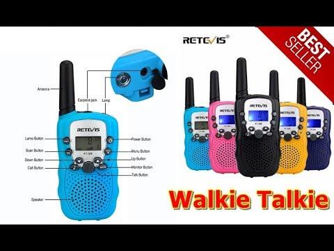 BEST Retevis RT388 Mini Walkie Talkie Kids Children PMR PMR446 FRS VOX  Handheld 2 Way