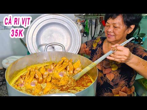 Cà Ri Vịt Nước Cốt Dừa 35K | Cô chủ chia sẻ quy trình làm cực ngon