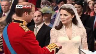 Royal Wedding: Royal Couple Take Their Vows