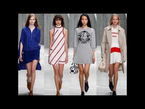 Модная спортивная одежда весна-лето 2017