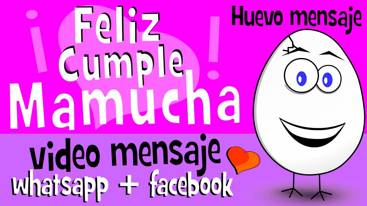 Videos feliz cumpleanos mama whatsapp