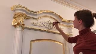 видео Лепное декорирование в квартире