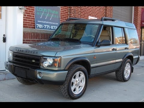 2004 Land Rover Discovery Se Giverny Green Alpaca Beige