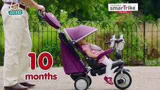 Tricicletă pentru copii Recliner Infinity 5in1 sma