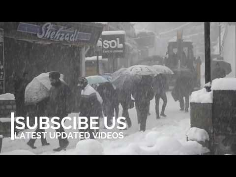 Shimla Mall Road Church 2017 2018 Heavy Snowfall | Shimla Manali Winters| latest video LIVE