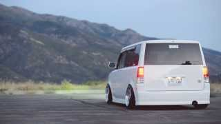 Nik's Accuair E-level'd Scion xB on CCWs - The Lowered Elite