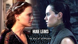 HUGE The Rise Of Skywalker Leaks! WARNING (Star Wars Episode 9 Spoilers)