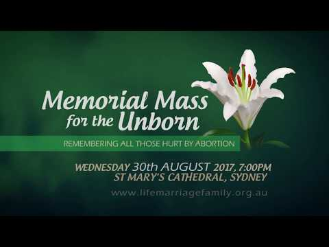 Memorial Mass for the Unborn - 2017