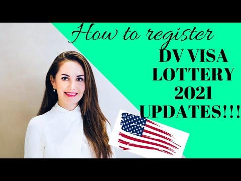 DV Visa Lottery 2021 UPDATE