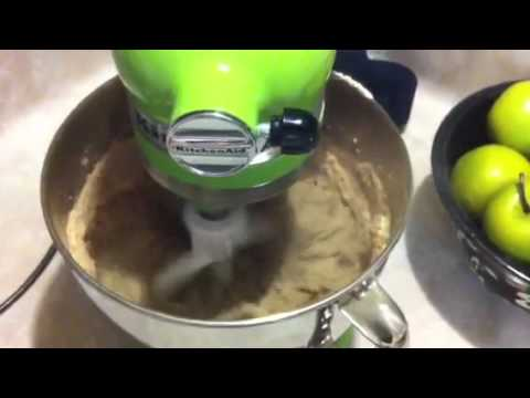 Green Apple Kitchenaid Making Brownies!!