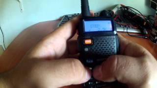 TUTORIAL BAOFENG UV5R en español(tutorial como configurar un Handy desde el principio., 2014-04-22T23:36:35.000Z)