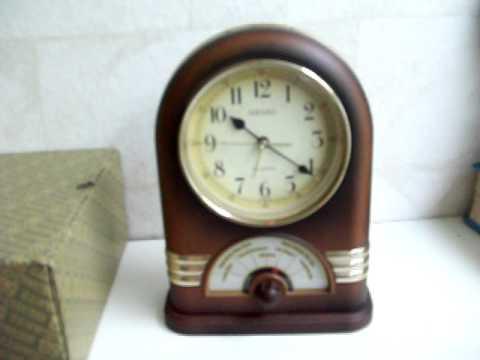 Vintage SEIKO Music QUARTZ Alarm CLOCK