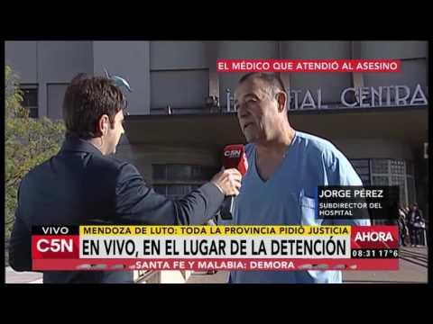 C5N - Triple femicidio en Mendoza: Habla el subdirector del hospital