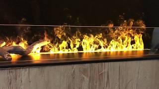 Effektfeuer mit ohne Holz und Verglasung