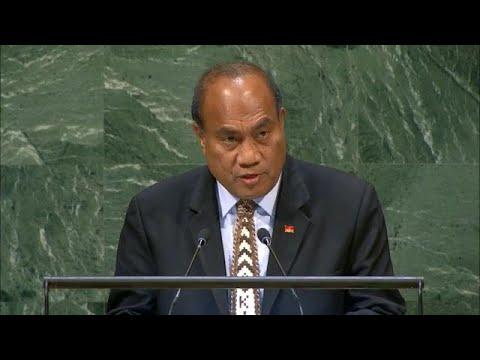 🇰🇮 Kiribati - President Addresses General Debate, 73rd Session