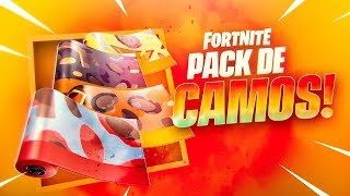 NEW PACK OF CAMOUFLAGE *BEST* IN THE STORE OF FORTNITE!!