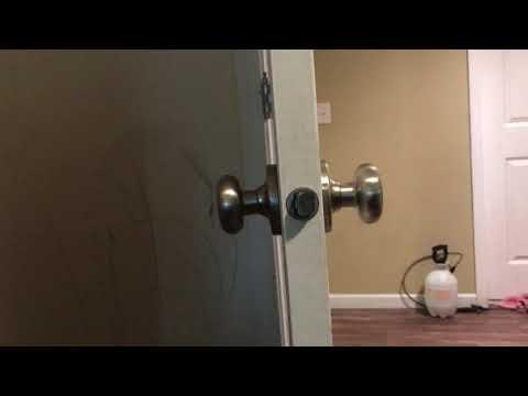 Door knob removal