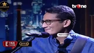 Download Video E-Talkshow LIVE TV ONE WITH SANDIAGA UNO MP3 3GP MP4