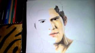 Drawing Tyler Posey (Scott McCall) Teen Wolf