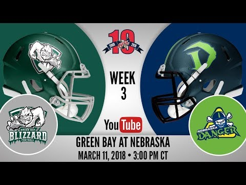 Week 3   Green Bay Blizzard at Nebraska Danger