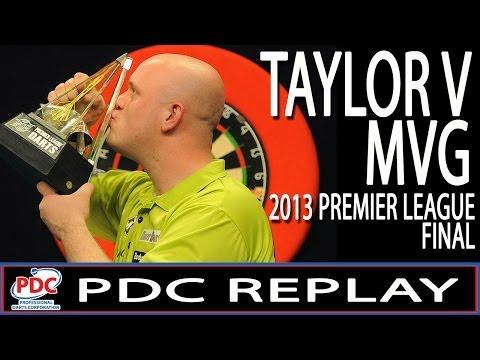 Phil Taylor v Michael van Gerwen Premier League Darts Final 2013