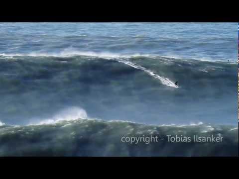 Big Wave Surfing Nazare Portugal  28.01.2013 - Trailer