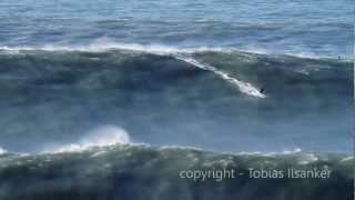 Big Wave Surfing Nazare Portugal  28.01.2013 - Trailer