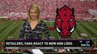 Arkansas Razorbacks Unveils New Hog logo