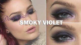 Done Quick- Smoky Violet - Linda Hallberg makeup tutorials Thumbnail