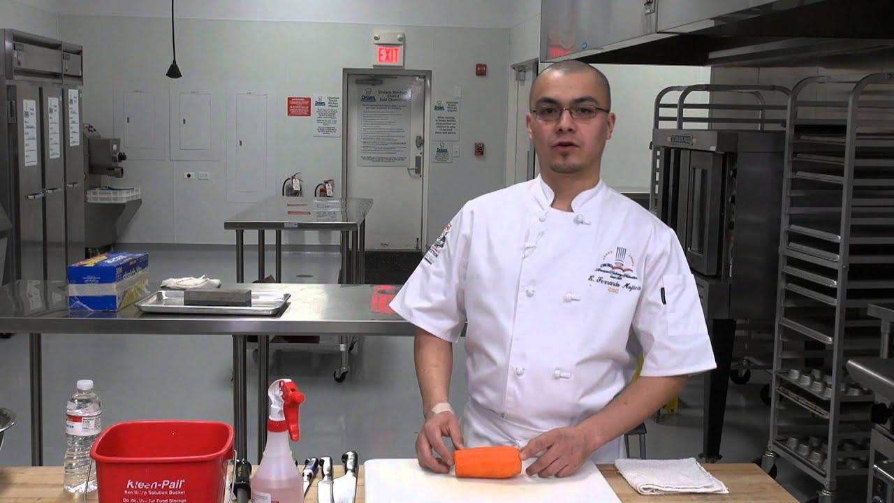 Tecnicas de corte de chef funnycat tv for Tecnicas de alta cocina