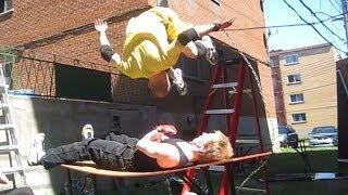 Chain Match - Triple S VS Xacutor - CHW Backyard Wrestling