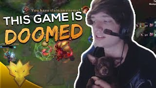 "Meteos - ""THIS GAME IS DOOMED"" - League of Legends Stream Highlights & Funny Moments"