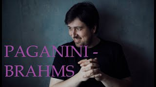 brahms paganini variations op 35 vol 2 tchaikovsky prize winner dmitry onishchenko piano