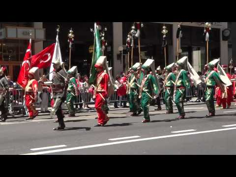 NYC Turkish Parade - 05.19.2012 - Ottoman Military Marching Band