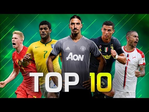 Top 10 Most Powerful Shot Takers in Football 2019 (HD)