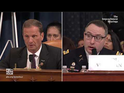 WATCH: Rep. Chris Stewart's full questioning of Vindman and Williams   Trump impeachment hearings