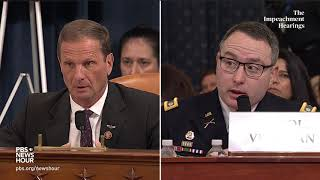 WATCH: Rep. Chris Stewart's full questioning of Vindman and Williams | Trump impeachment hearings