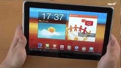 Samsung Galaxy Tab 10.1 N - Unboxing & Review (deutsch)