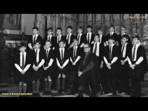 """Choirs & Places Where they Sing"" 5: New College Oxford 1967 (David Lumsden)"