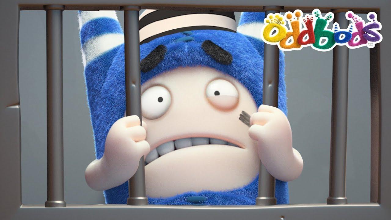 Oddbods NEW Episodes - PRISON BREAK