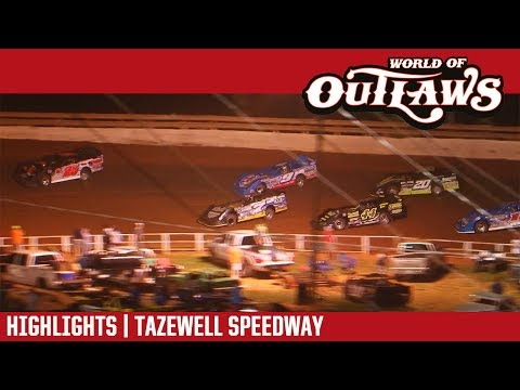 World of Outlaws Craftsman Late Models Tazewell Speedway June 2, 2017 | HIGHLIGHTS